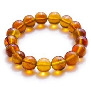 Blue Sumatra Amber Beaded Bracelet (Copy)